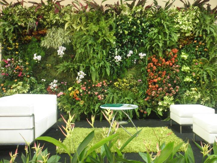 Jardines colgantes las hojas verdes for Jardin vertical colgante