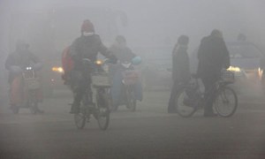 Contaminación en China
